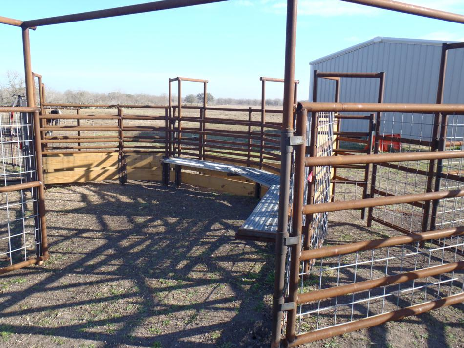 LongBranch Ranch and Ag Services | Texas : Cattle Pens